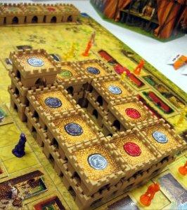 Замокот кој што го градат играчите